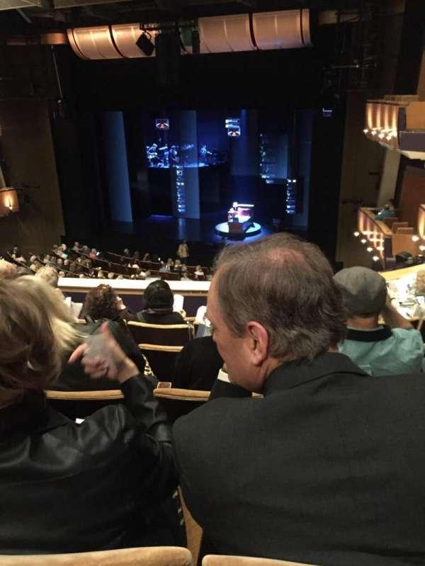 Ahmanson Theatre, secção: Mezzanine, fila: F, lugar: 6