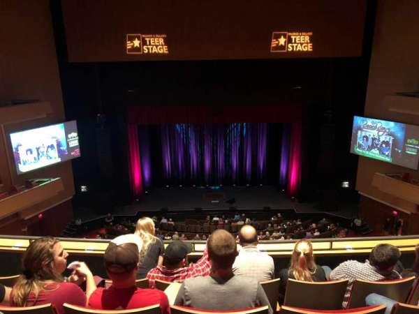 Durham Performing Arts Center, secção: Balcony 9, fila: D, lugar: 116