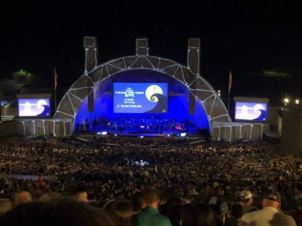 Hollywood Bowl, secção: R1, fila: 14, lugar: 39