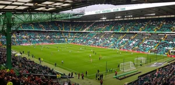 Celtic Park, secção: 119, fila: QQ, lugar: 5