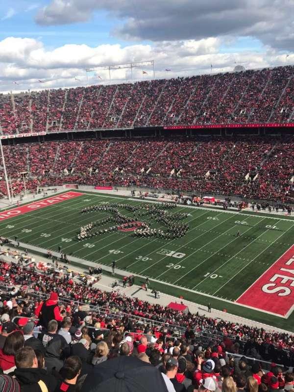 Ohio Stadium, secção: 29C, fila: 26, lugar: 12