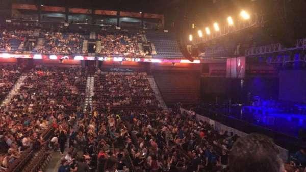 Mohegan Sun Arena, secção: 15, fila: P, lugar: 20