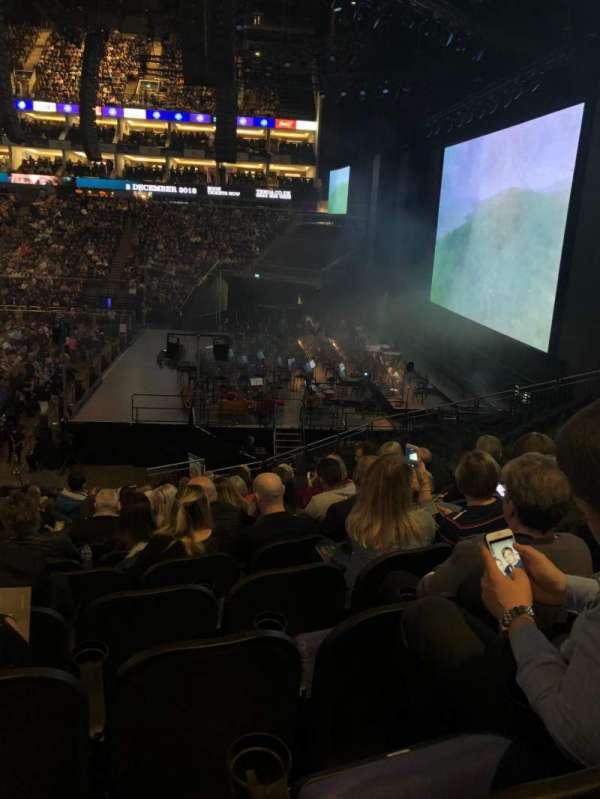 The O2 Arena, secção: 113, fila: W, lugar: 400