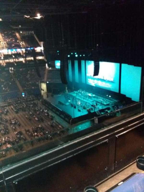 the O2 arena, secção: 420, fila: B, lugar: 928