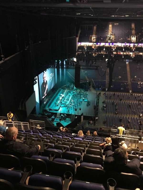 The O2 Arena, secção: 402, fila: P, lugar: 478