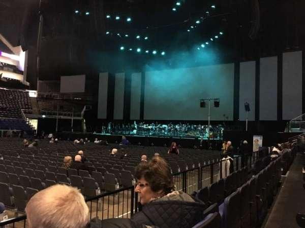 The O2 Arena, secção: 111, fila: C, lugar: 343