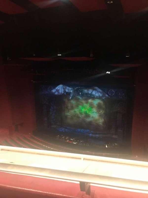 San Diego Civic Theatre, secção: Balcony R, fila: O, lugar: 34