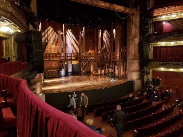 CIBC Theatre, secção: Dress Circle L, fila: A, lugar: 11