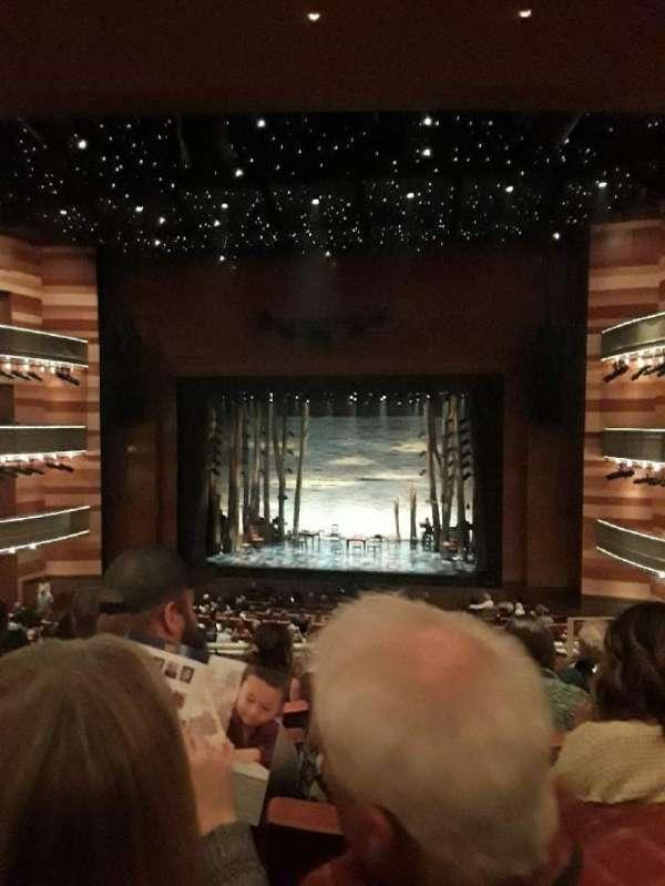 Eccles Theater, secção: 1 TC, fila: E, lugar: 2