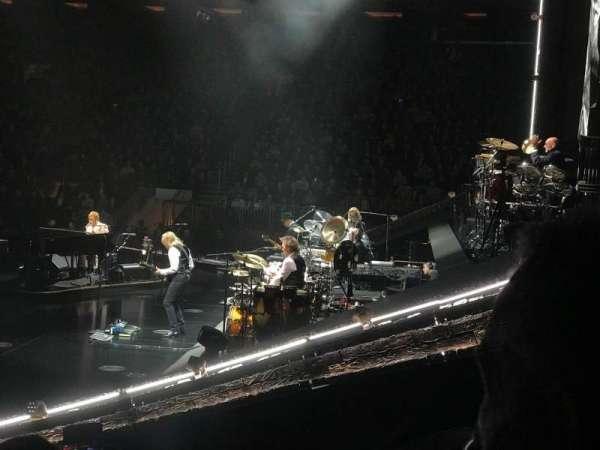 Madison Square Garden, secção: 109, fila: 7, lugar: 14