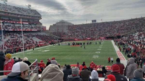 Memorial Stadium (Lincoln), secção: 34, fila: 25, lugar: 25