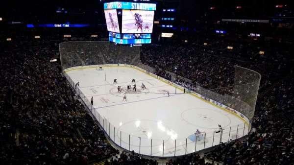 Nationwide Arena, secção: 212, fila: A, lugar: 11