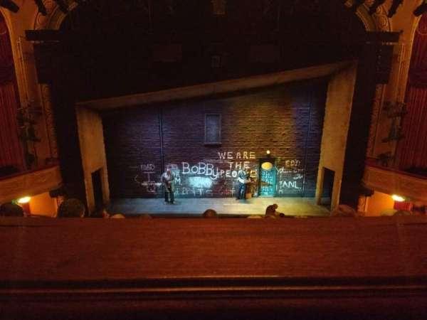 Bernard B. Jacobs Theatre, secção: Mezzanine L, fila: E, lugar: 108