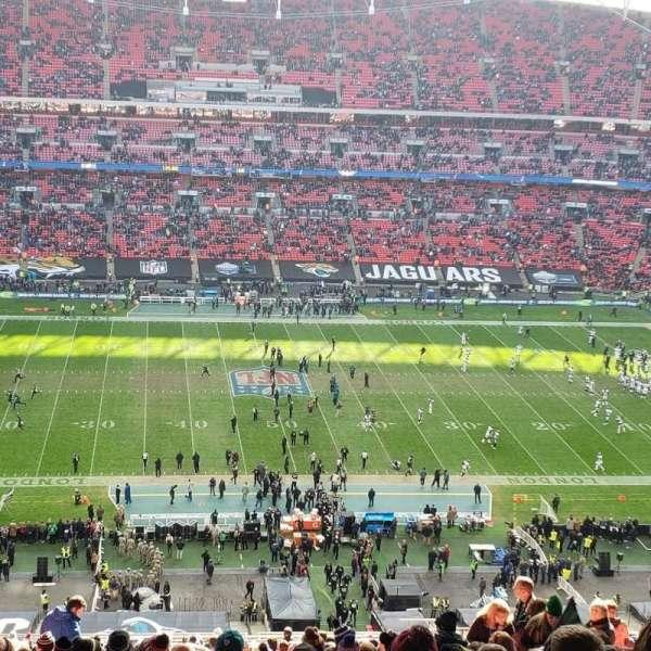 Wembley Stadium, secção: 501, fila: 24, lugar: 27
