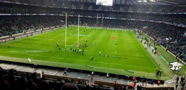 Twickenham Stadium, secção: M19, fila: 65, lugar: 91