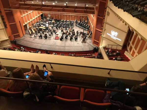 Uihlein Hall, secção: Balcony, fila: C, lugar: 42