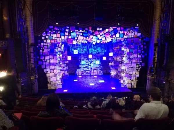 Palace Theatre (Manchester), secção: Circle, fila: H, lugar: 27