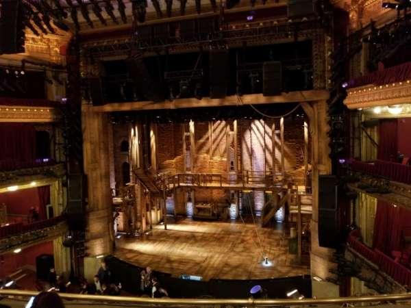 CIBC Theatre, secção: Mezzanine RC, fila: D, lugar: 318