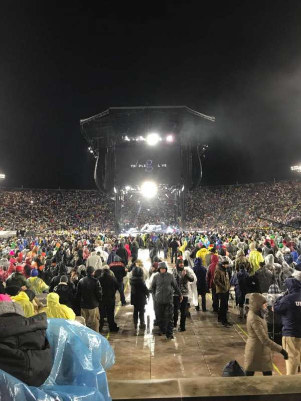 Notre Dame Stadium, secção: 19, fila: 6, lugar: 16-17