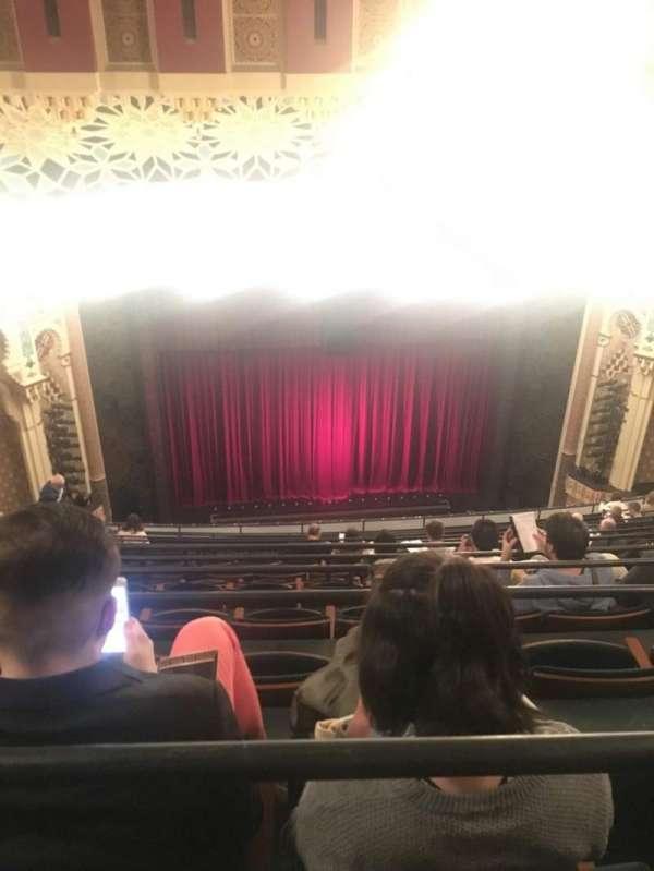 New York City Center, secção: Balcony, fila: M, lugar: 122