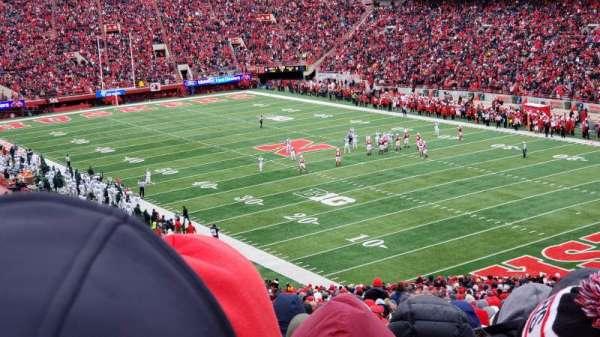 Memorial Stadium (Lincoln), secção: 20, fila: 77, lugar: 5