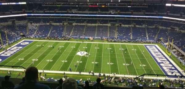 Lucas Oil Stadium, secção: 639, fila: 9, lugar: 10