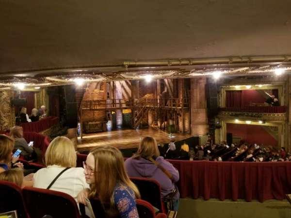 CIBC Theatre, secção: Dress Circle L, fila: D, lugar: 3