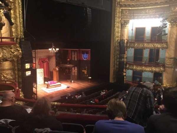 Emerson Colonial Theatre, secção: Dress Circle, fila: E, lugar: 21