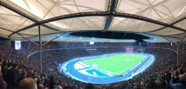 Olympiastadion, secção: 33.2, fila: 26, lugar: 1