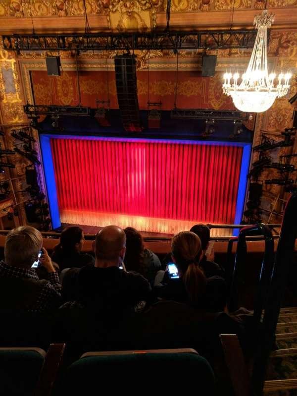 Longacre Theatre, secção: Balcony C, fila: D, lugar: 101