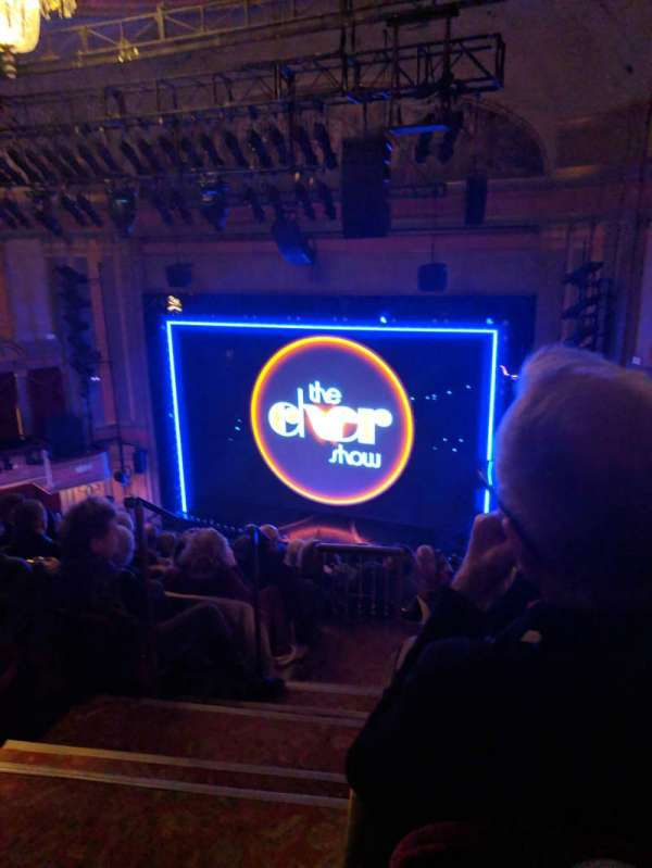 Neil Simon Theatre, secção: Mezzanine R, fila: L, lugar: 2