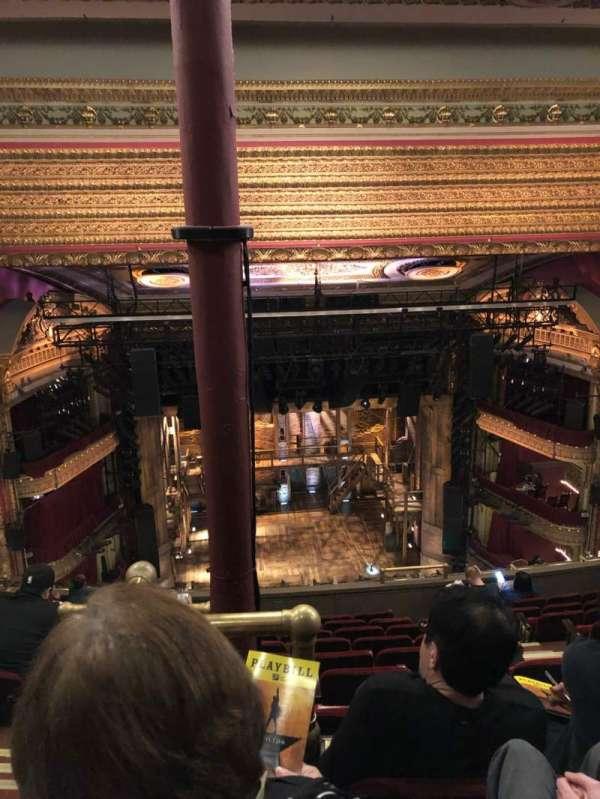 CIBC Theatre, secção: Balcony LC, fila: K, lugar: 407