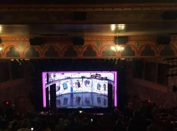 August Wilson Theatre, secção: Mezzanine C, fila: P, lugar: 103-105