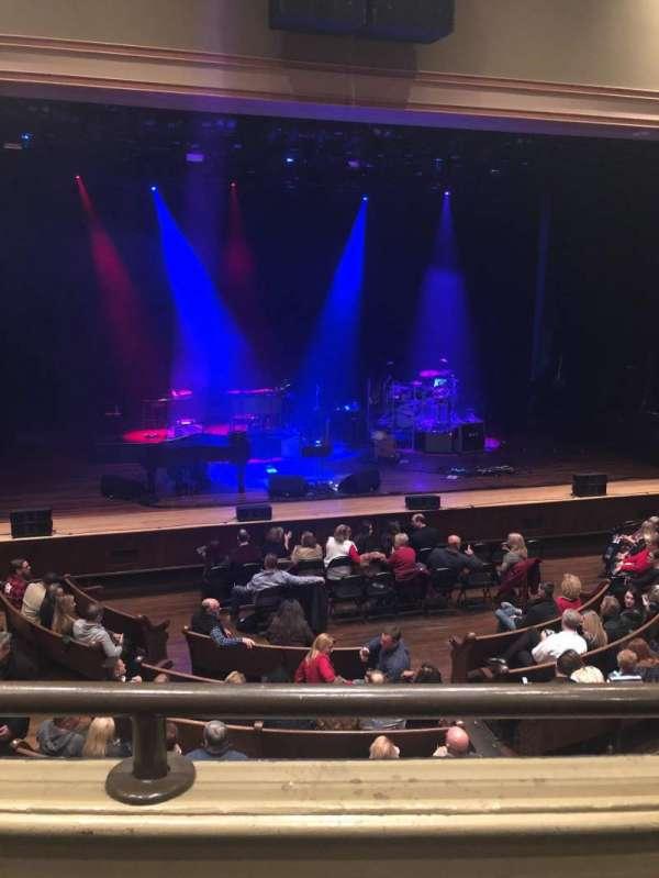 Ryman Auditorium, secção: Bal-13, fila: A, lugar: 6