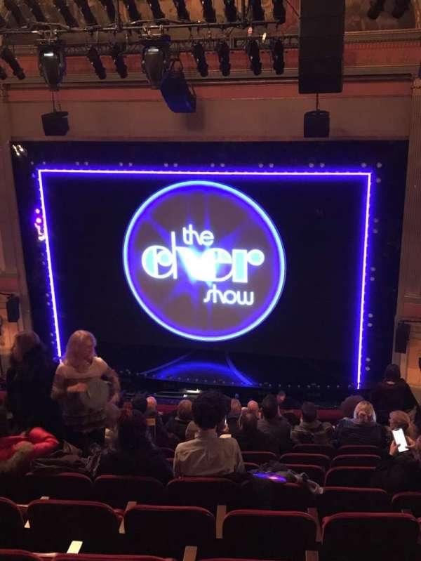 Neil Simon Theatre, secção: Mezzanine C, fila: L, lugar: 124