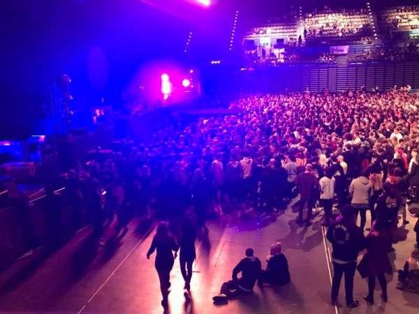 Arena Birmingham, secção: Block 12 lower, fila: R, lugar: 514