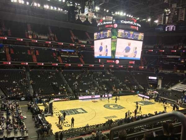 Capital One Arena, secção: 212, fila: E, lugar: 12