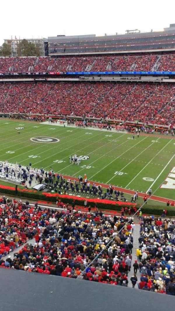Sanford Stadium , secção: 302, fila: 1, lugar: 30