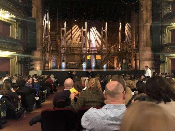CIBC Theatre, secção: Orchestra C, fila: R, lugar: 102