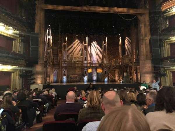 CIBC Theatre, secção: Orchestra C, fila: R, lugar: 101