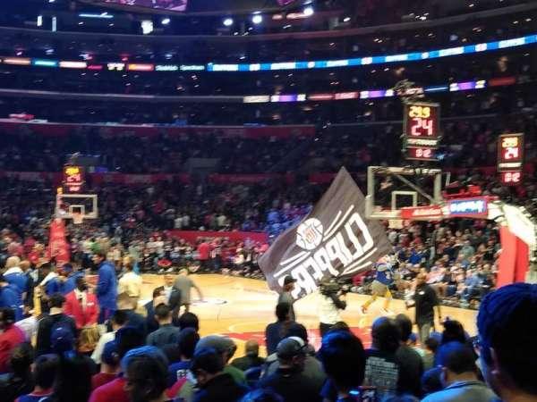 Staples Center, secção: 117, fila: 4, lugar: 4 and 5