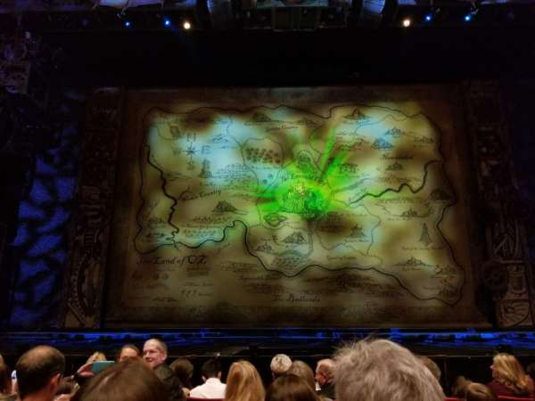 San Diego Civic Theatre, secção: Orchestra L, fila: D, lugar: 1