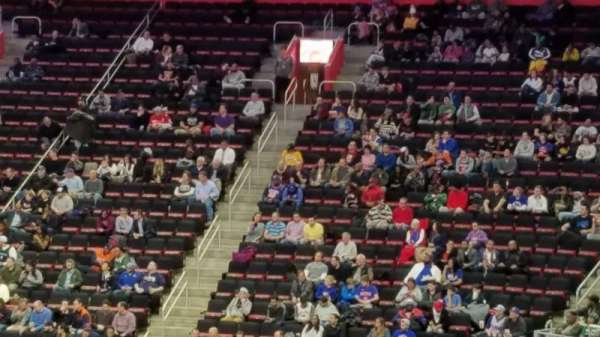 Little Caesars Arena, secção: 105, fila: 18, lugar: 16