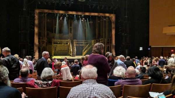 Durham Performing Arts Center, secção: Orchestra 3, fila: U, lugar: 119