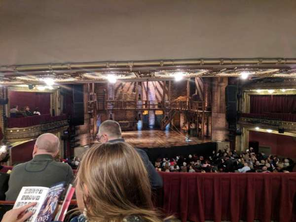 CIBC Theatre, secção: Dress Circle LC, fila: c, lugar: 221