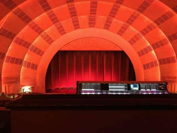 Radio City Music Hall, secção: 2nd Mezzanine 4, fila: c, lugar: 411