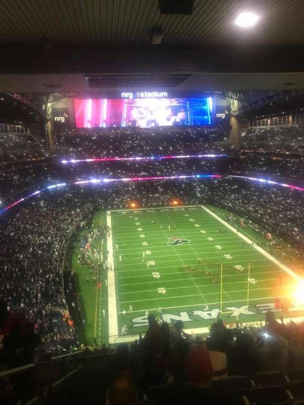 NRG Stadium, secção: 623, fila: N, lugar: 25-26