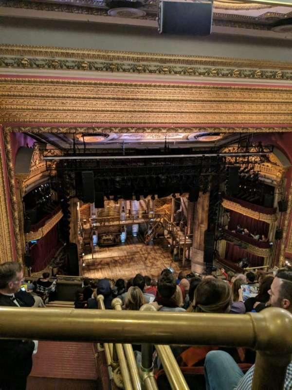 CIBC Theatre, secção: Balcony LC, fila: L, lugar: 419