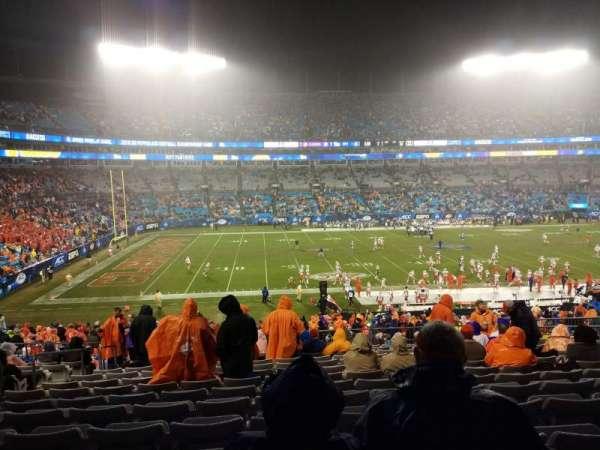 Bank of America Stadium, secção: 318, fila: 14, lugar: 14