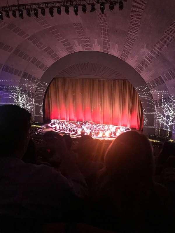 Radio City Music Hall, secção: 3rd Mezzanine 2, fila: D, lugar: 214